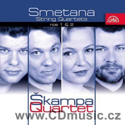 SMETANA B. STRING QUARTETS No.1 FROM MY LIFE, No.2 / Škampa Quartet