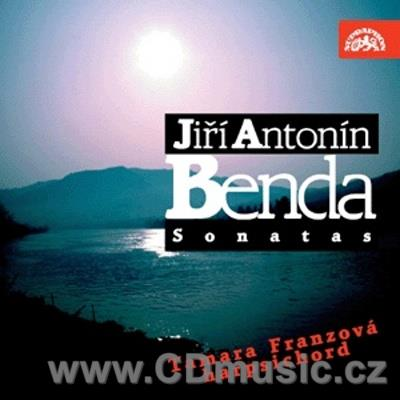 BENDA J.A. (1722-1795) SIX SONATAS FOR HARPSICHORD / T.Franzová harpsichord