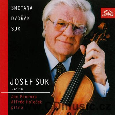 SMETANA B. FROM THE HOMELAND, DVOŘÁK A. SONATINA FOR VIOLIN AND PIANO / J.Suk violin