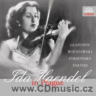 GLAZUNOV A. CONCERTO FOR VIOLIN AND ORCHESTRA, WIENIAWSKI H. CONCERTO No.2 FOR VIOLIN AND