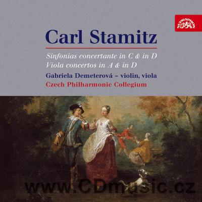STAMITZ C. (1745-1801) CONCERTO IN D MAJOR and A MAJOR FOR VIOLA AND ORCHESTRA, SINFONIA C