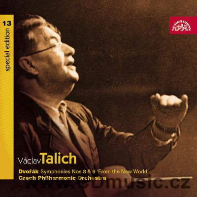 DVOŘÁK A. SYMPHONY No.8 ENGLISH, SYMPHONY No.9 FROM THE NEW WORLD / CPO / V.Talich