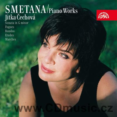 SMETANA B. PIANO WORKS Vol.7 (SONATA IN G MIN, FUGUES, RONDOS, ETUDES, MARCHES) / J.Čechov