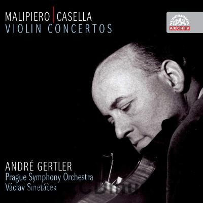 MALIPIERO G.F. (1882-1973) CONCERTO FOR VIOLIN AND ORCHESTRA, CASELLA A. (1883-1947) CONCE