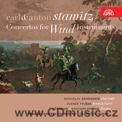 STAMITZ C. CONCERTO FOR CLARINET, CONCERTO FOR FRENCH HORN, STAMITZ A. SINFONIA CONCERTANT
