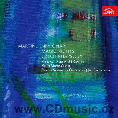 MARTINŮ B. NIPPONARI - 7 SONGS FOR FEMALE VOICE AND SMALL ORCHESTRA, MAGIC NIGHTS / PSO