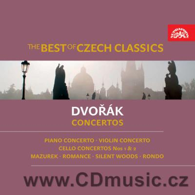 DVOŘÁK A. CONCERTOS No.1+2 FOR CELLO, CONCERTO FOR PIANO, ROMANCE FOR VIOLIN AND ORCH. ...