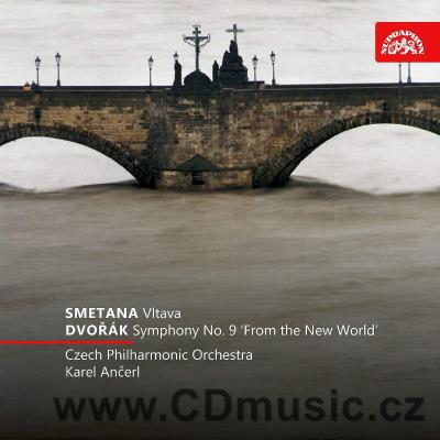 SMETANA B. VLTAVA, DVOŘÁK A. SYMPHONY No.9 FROM THE NEW WORLD Op.95 / CPO / K.Ančerl
