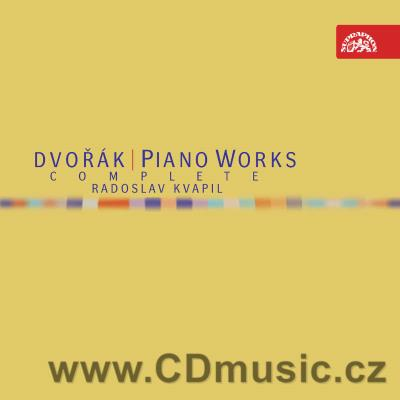 DVOŘÁK A. COMPLETE PIANO WORKS / R.Kvapil piano (4CD)