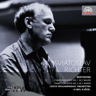 BEETHOVEN L.v. CONCERTOS FOR PIANO AND ORCHESTRA No.1, No.3 / S.Richter, CPO / K.Ančerl