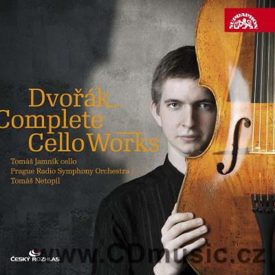 DVOŘÁK A. COMPLETE WORKS FOR CELLO AND ORCHESTRA / T.Jamník cello / PRSO / T.Netopil