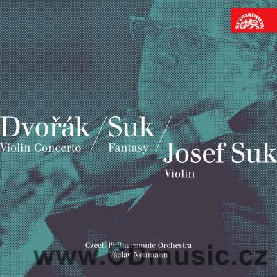 DVOŘÁK A. CONCERTO FOR VIOLIN AND ORCHESTRA, ROMANCE, SUK J. FANTASY, FAIRY TALE / CPO
