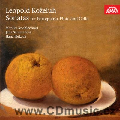 KOŽELUH L. (1747-1818) SONATAS FOR FORTEPIANO WITH ACCOMPANIMENT FOR FLUTE AND CELLO