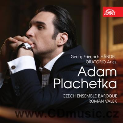HANDEL G.F. ORATORIO ARIAS / A.Plachetka baritone, Czech Ensemble Baroque Orchestra and Ch