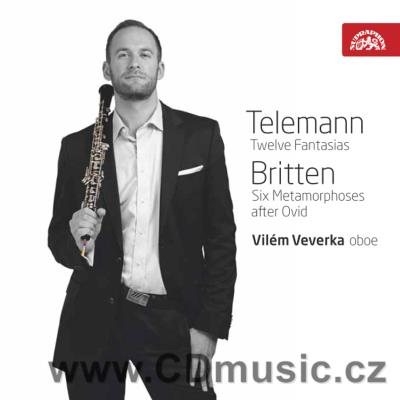 TELEMANN G.P. 12 SONATAS FOR OBOE SOLO, BRITTEN B. 6 METAMORPHOSES AFTER DAVID FOR OBOE SO