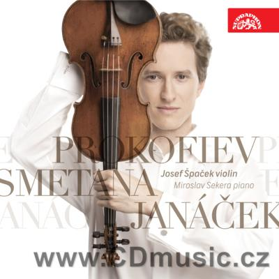 JANÁČEK L. SONÁTA FOR VIOLIN AND PIANO, SMETANA B. FROM THE HOMELAND, PROKOFIEV S. SONATA