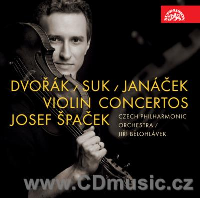 SUK J. FANTASY IN G MIN FOR VIOLIN AND ORCHESTRA Op.24, JANÁČEK L. VIOLIN CONCERTO - THE W