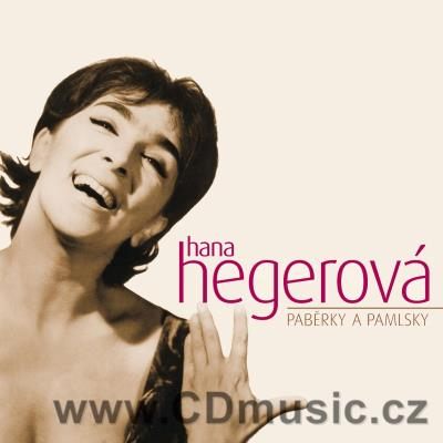 HEGEROVÁ H. PABĚRKY A PAMLSKY (including also first time on CD or first time published son