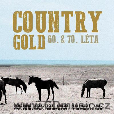 COUNTRY GOLD 60. & 70. léta (tato kompilace 2018) (2CD)