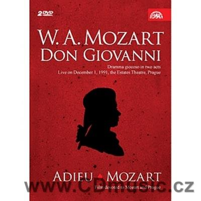 Mozart W.A. Don Giovanni opera + Adeiu Mozart film Language: English, Czech, German, Frenc