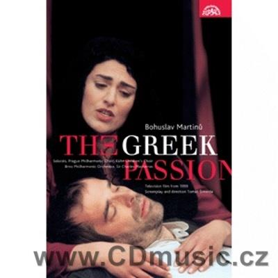 Martinů B. The Greek Passion TV film cast/sung M.Etzler/J.Mitchinson, H.Novotná/H.Field