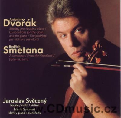 SMETANA B. FROM THE HOMELAND, DVOŘÁK A. SONATA FOR VIOLIN AND PIANO IN F MAJOR Op.57, SONA