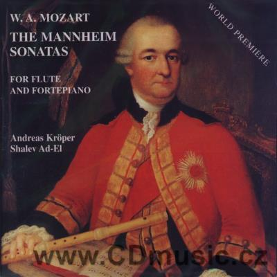 MOZART W.A. THE MANNHEIM SONATAS FOR FLUTE AND FORTEPIANO / A.Kroper, S.Ad-El