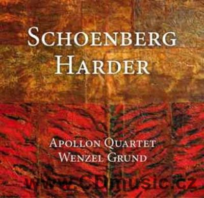SCHOENBERG A. STRING QUARTET Op.7, HARDER A. JAZZ SUITE FOR CLARINET AND STRING QUARTET