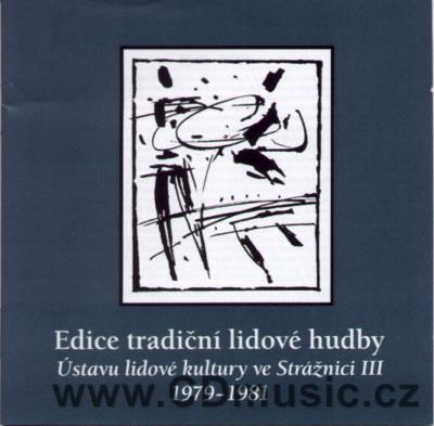 TRADITIONAL MORAVIAN FOLK MUSIC EDITION Vol.3 / Female Choir from Milotice near Kyjov, Jur