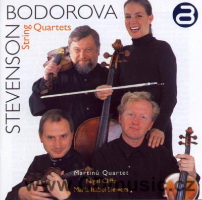 BODOROVÁ S. TEREZÍN GHETTO REQUIEM FOR BARITONE AND STRING QUARTET, CONCIERTO DE ESTÍO...