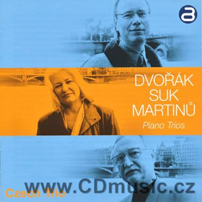 DVOŘÁK A. PIANO TRIO No.3 Op.65, SUK J. ELEGIE PIANO TRIO Op.23, MARTINŮ B. TRIO No.3 IN C