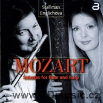 MOZART W.A. SONATAS FOR FLUTE AND HARP / R.Stallman flute, K.Englichová harp