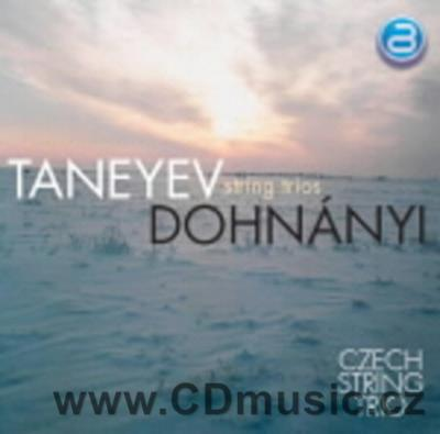 TANEYEV S.I. (1856-1915) TRIO FOR VIOLIN, VIOLA AND CELLO IN D MAJOR, DOHNÁNYI E. SERENADE