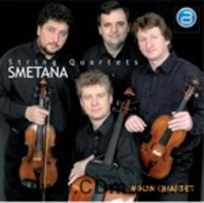 SMETANA B. STRING QUARTET No.1 FROM MY LIFE, No.2 / Wihan Quartet