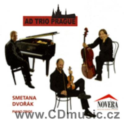 SMETANA B. PIANO TRIO IN G MIN, DVOŘÁK A. PIANO TRIO IN E MIN / AD Trio Prague