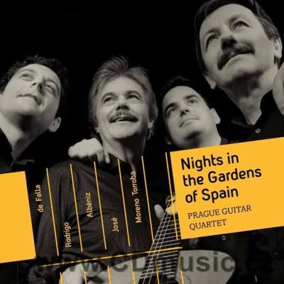 PRAGUE GUITAR QUARTET - NIGHTS IN THE GARDENS OF SPAIN