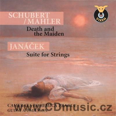 JANÁČEK L. SUITE FOR STRINGS, SCHUBERT F. STRING QUARTET No.14 DEATH AND THE MAIDEN