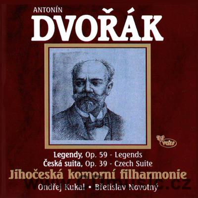DVOŘÁK A. LEGENDS FOR ORCHESTRA, CZECH SUITE / Southern Bohemia Chamber Philharmonic Orch.