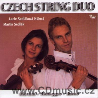 MARTINŮ B. DUO FOR VIOLIN AND CELLO No.1 H. 157, DUO FOR VIOLIN AND CELLO No.2 H. 371, HON