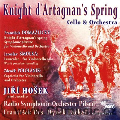 DOMAŽLICKÝ F. KINGHT D'ARTAGNAN'S SPRING - SYMPHONIC PICTURE FOR VIOLONCELLO AND ORCHESTRA